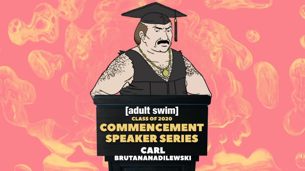 Feel free to disregard everything he says. @therealcarl2 #ASCommencement youtu.be/LaQlPb9hqqM