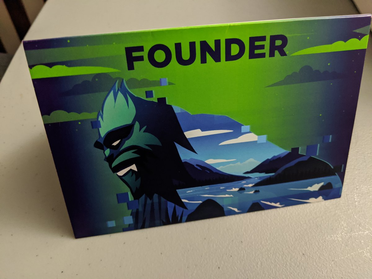 This thank you card arrived in the mail today from the @VancouverTitans (sent to me as I had tickets to the cancelled homestand). While it is a nice gesture - and a beautiful design - the opportunity to make it more personal is a miss. #ForceOfNature #VancouverTitans #OWL2020 1/ https://t.co/r2hnecSRNt