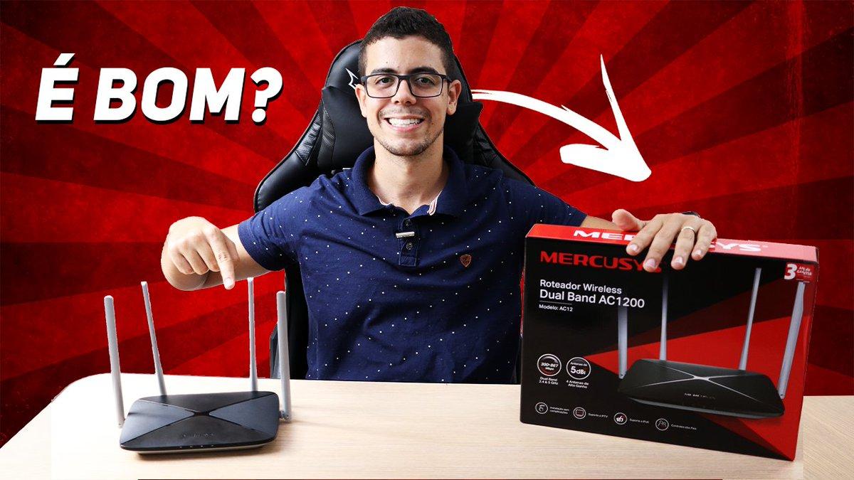 SEGUNDA LINHA DA TP-LINK? Roteador Mercusys AC12  Vídeo👉https://t.co/AmlJzIAcku  #WiFi #roteador #Router #mercusys #Tecnologia #Review #UNBOXING #mercusys @MercusysBrasil https://t.co/VQMJJTqMaT