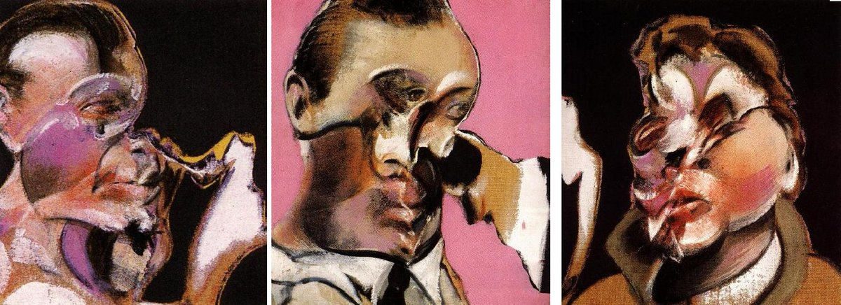 Three Studies for a Self-Portrait, 1969 #bacon #francisbaconpic.twitter.com/rxdqx81Pyt