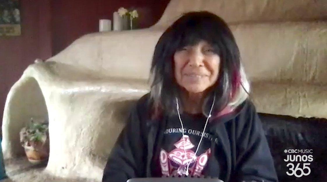 I feel that audiences for these particular songs are more ripe than ever for understanding and using the songs. So in that way, it's an opportunity to reach people with good medicine. - @BuffySteMarie Streaming Live: #JUNOS 365 Songwriters Circle gem.cbc.ca/live/174292025…