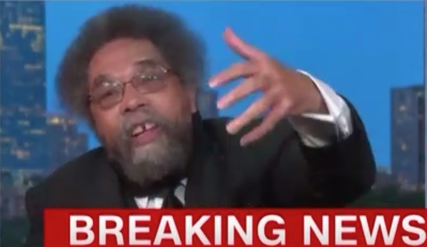 If you do one thing today, watch this clip of Cornel West on CNN