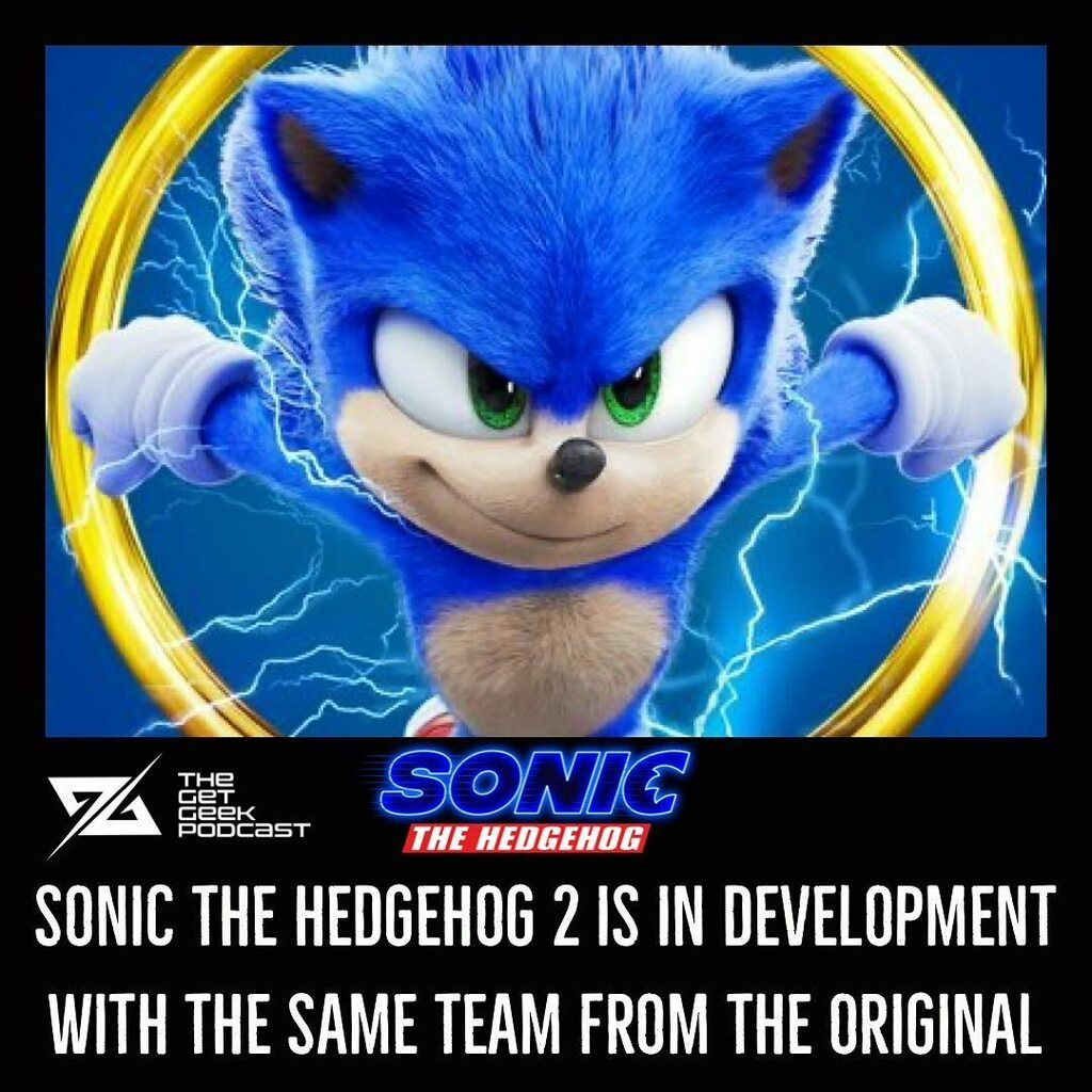 Sonic The Hedgehog 2 Is In Development With The Same Team From The Original  Same Sonic, more Tails . . . #getgeek #getgeekpodcast #podcast #sega #sonic #sonicmovie #sonicthehedgehog #sonicthehedgehogmovie #sonic2 #sonictheehedgehog2 #sonicthehedgehogmov…