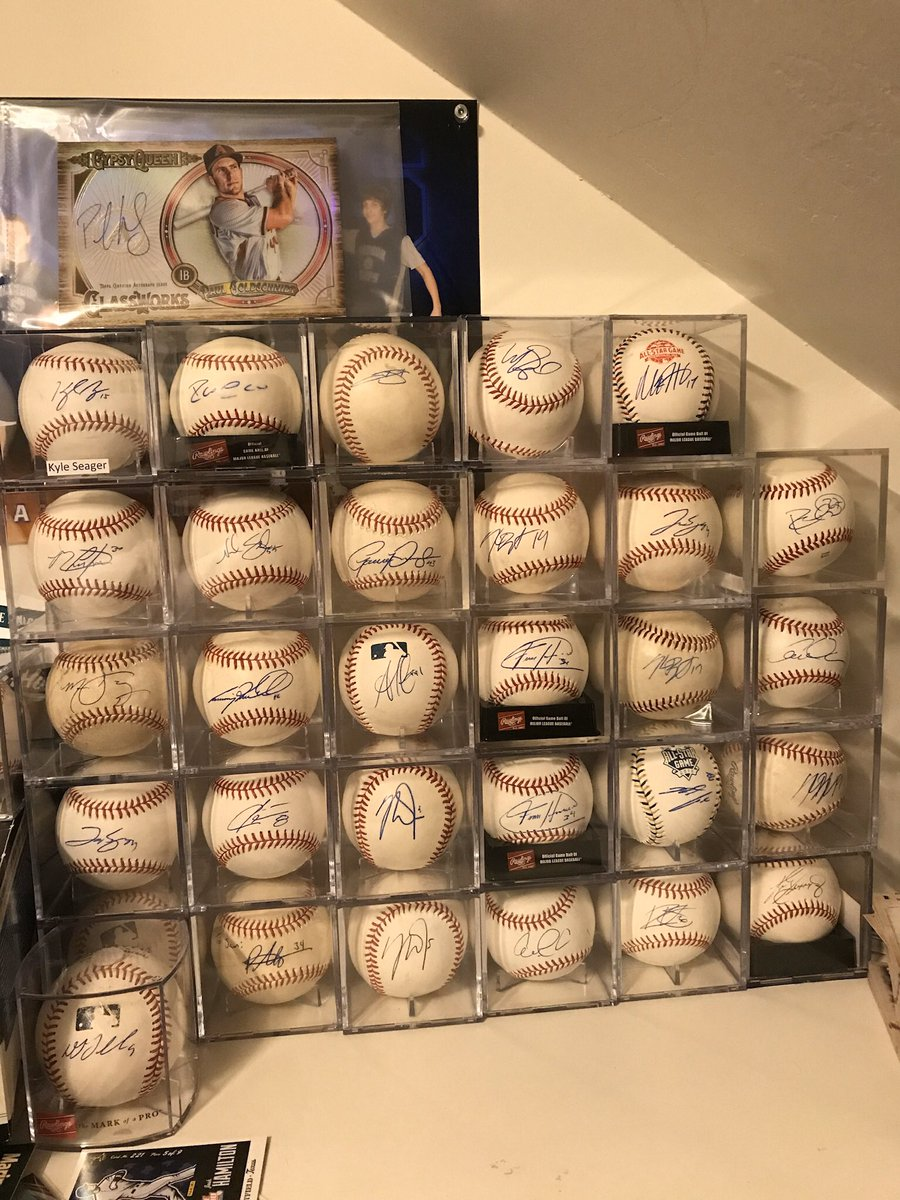 Let's play a little game! What is your fav signed baseball in my profile picture that you can identify?
