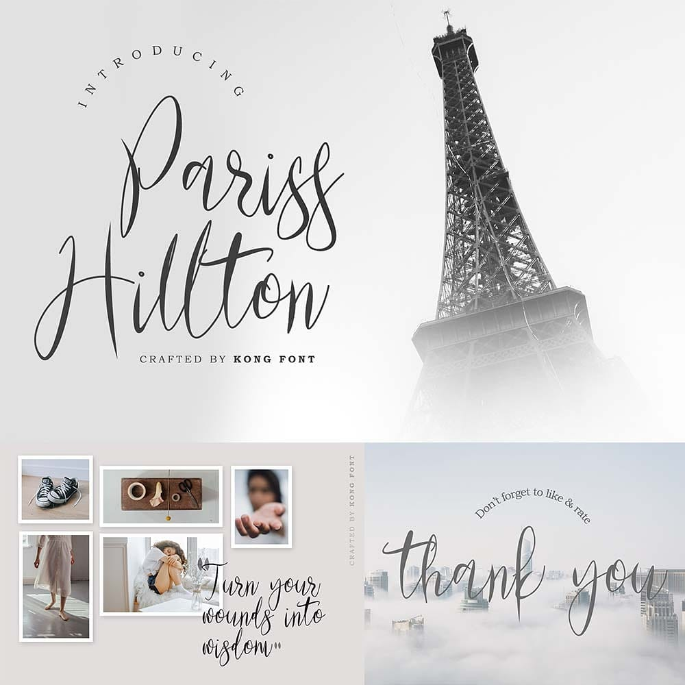 """""""We do it like no other. We're beyond special."""" Exclusive & Premium craft selections at your fingertips Click this link to see on our website :   . . . #parisshillton #font #script #branding #handwritten #fonts #logotype #handdrawn #invitation #decorative"""