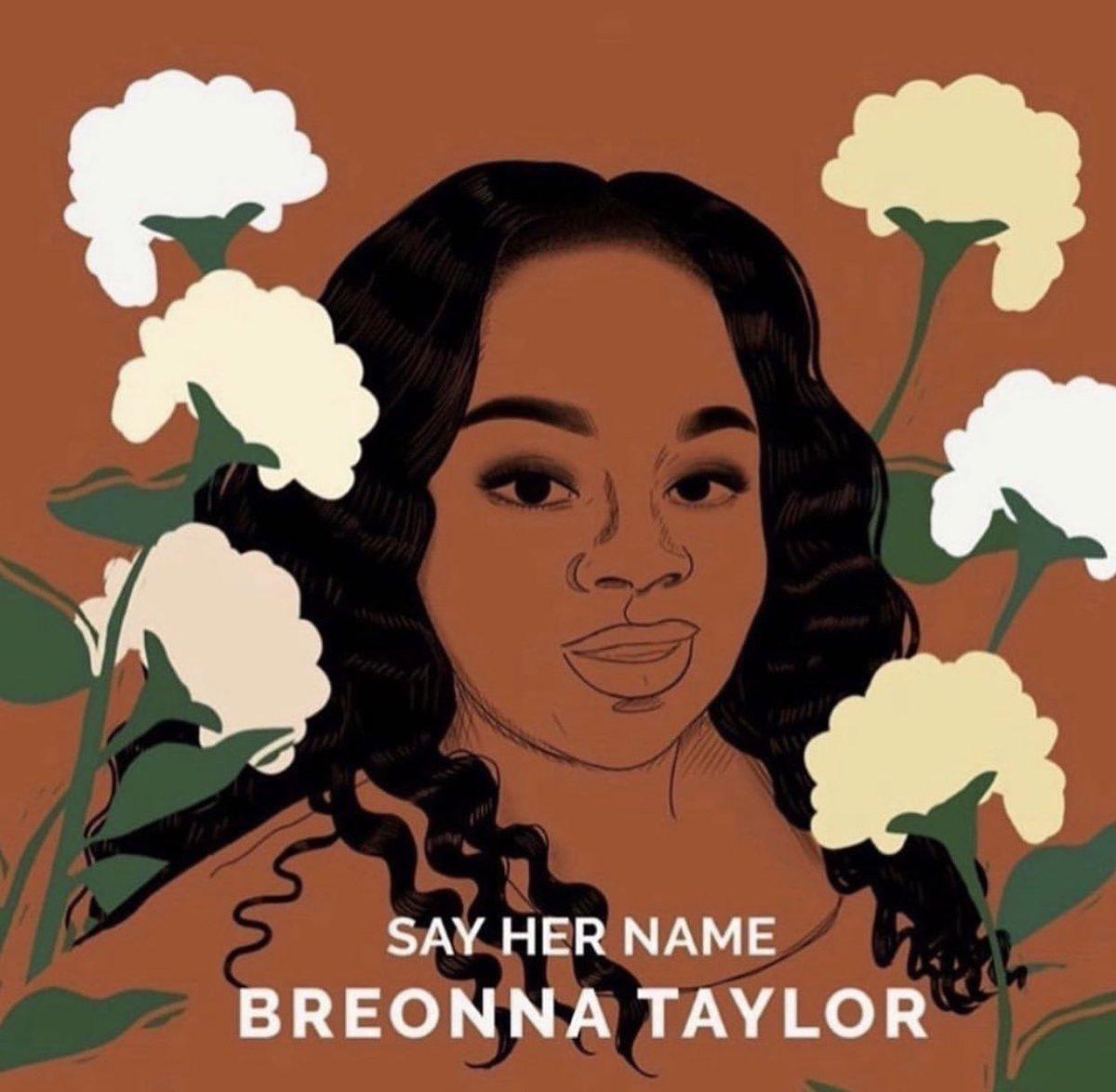 Say Her Name #JusticeforBreonnaTaylor