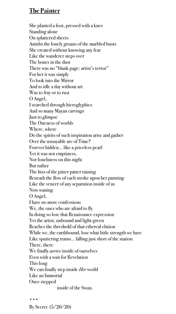 Here is a poem that I just wrote. I hope you like it. xoxo https://t.co/8bhMsoLalW