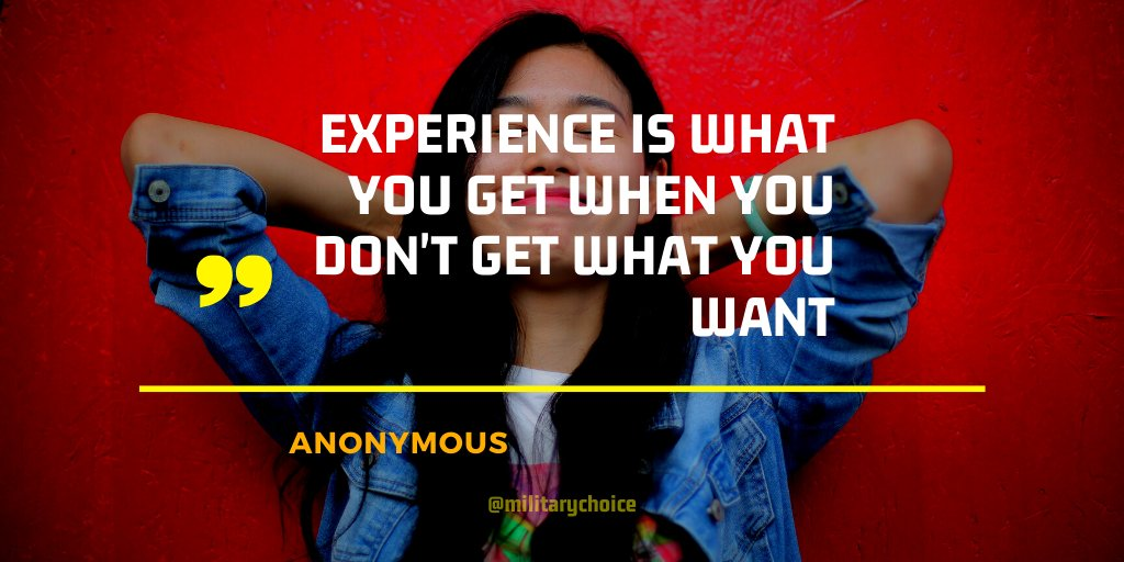 Experience is what you get when you don't get what you want. . . . #Entrepreneur #Startup #Success #MakeYourOwnLane #defstar5 #mpgvip #QuotesByMC #quotes #SaturdayMotivation #SaturdayVibes #SaturdayMood #SaturdayMorningpic.twitter.com/c3gNaxmd5z
