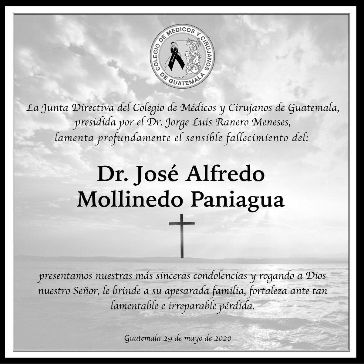 test Twitter Media - El Colegio de Médicos lamenta el fallecimiento del doctor José Mollinedo, quien murió este día en un hospital privado, producto del contagio por COVID-19. El ministro de Salud, Hugo Monroy, también lamentó el deceso. https://t.co/ITq3DVLEa4