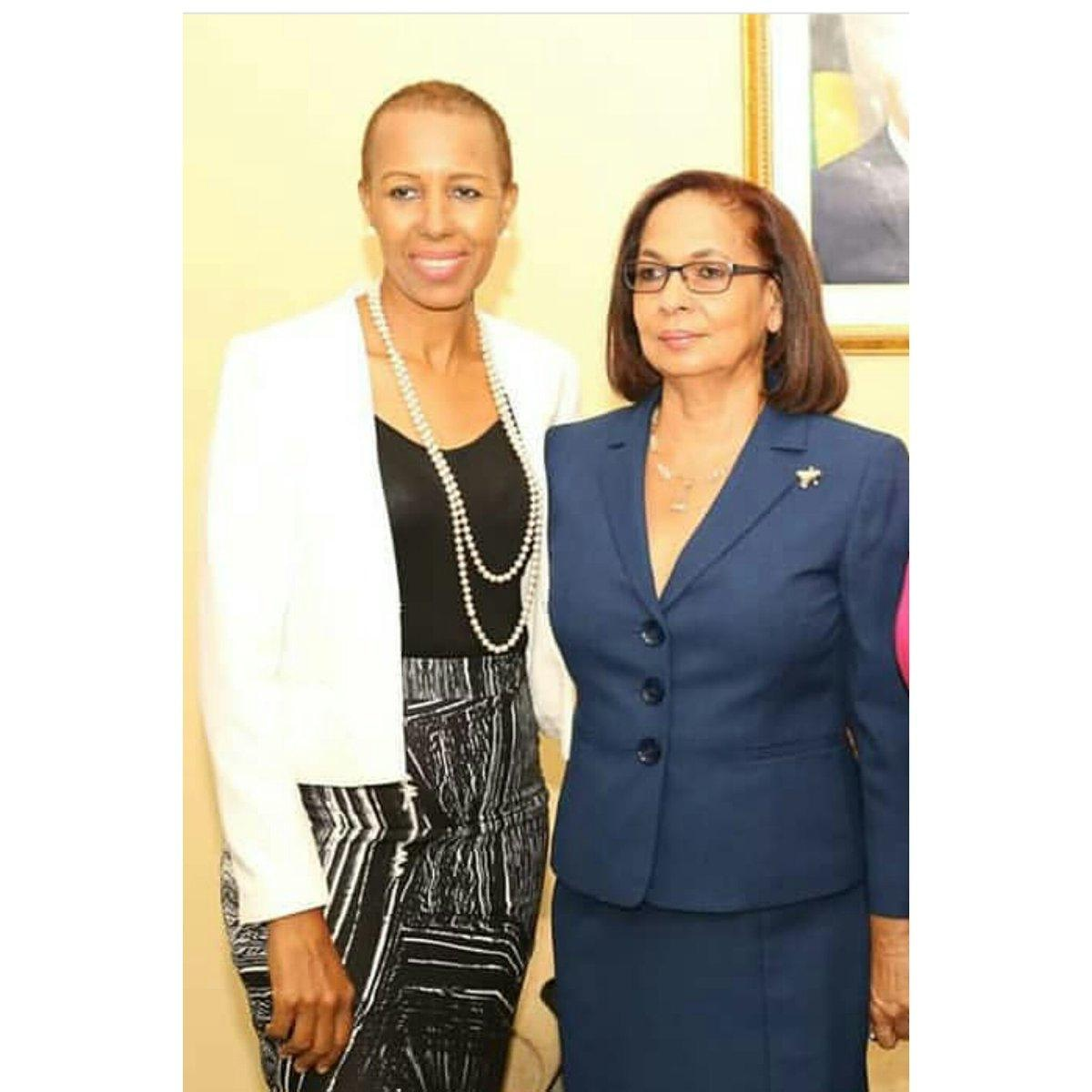 I am deeply saddened by the passing of my dear friend and Parliamentary colleague, Shahine Robinson.  May her memory add comfort to everyone who knew her and remind us of the strength in an honest character, faith and commitment to service above self.  Walk good Shahine.❤🙏 https://t.co/7EB0hzKZQJ