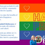 Image for the Tweet beginning: We're recognizing #GlendalePrideBecause of our