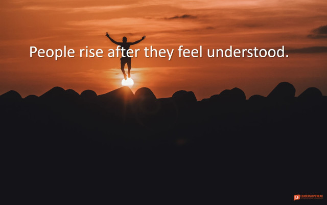 Don't reserve empathy for sadness. Connect by celebrating-with. leadershipfreak.blog/2019/11/11/how… #leadership #LFreakpost