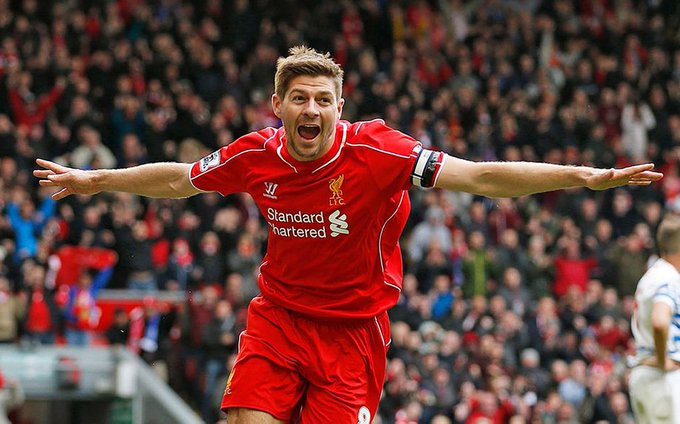 A very happy 40th birthday to legend Steven Gerrard..Gotta say he was quite good..!!