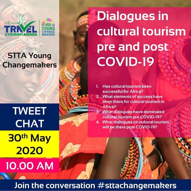 We begin dialogues on cultural #tourism, pre and post #COVID19, with #sttachangemakerspic.twitter.com/y8vGVzHShH