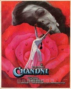 #Chandni (1989) by #YashChopra, feat. #Sridevi #RishiKapoor #VinodKhanna @iam_juhi #RenuArya  @AnupamPKher #SushmaSeth #Beena @ananthmahadevan @lalded and #WaheedaRehman.  Streaming on @PrimeVideoIN.  @yrf #