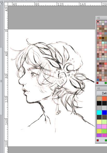 sneak peek of a commission that I'm working on  #sketch pic.twitter.com/YPxqskK4DE