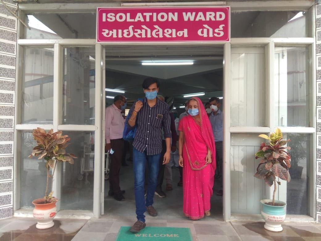 patients discharged from gandhi hospital - surendranagar
