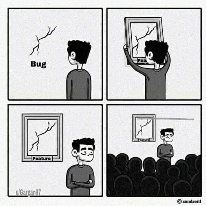 When you can't find a solution but have a patch that works 😂 #software #developers #funny #memes #jokes