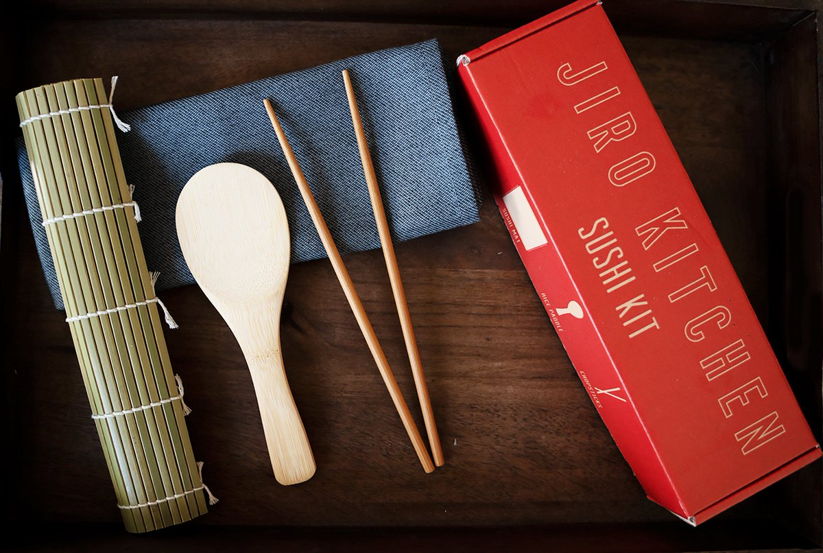 Start Making Sushi At Home With Jiro Kitchen Sushi Kits. Cookbook Included With Purchase For A Limited Time. Link In Bio! #sushi #sushitime #sushigo #cooking #dinner #lunch #quarantinecuisine
