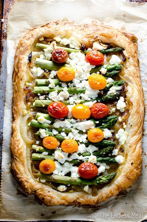 #MothersDay Gift Ideas  : Thanks to a store-bought puff pastry, this savory tart is whipped up in nearly n... _   https://t.co/UG3M0H9BEU https://t.co/IWYsOLBe01