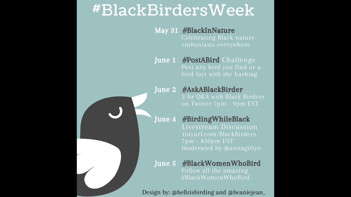 @LAllenLab @wssu What's up  @WSSURAMS  #Blackbirders, We outchea  come join us  #BlackAFinSTEM #BlackBirderWeek  https://t.co/seX7Hl99xV https://t.co/HlCMzmeJwg