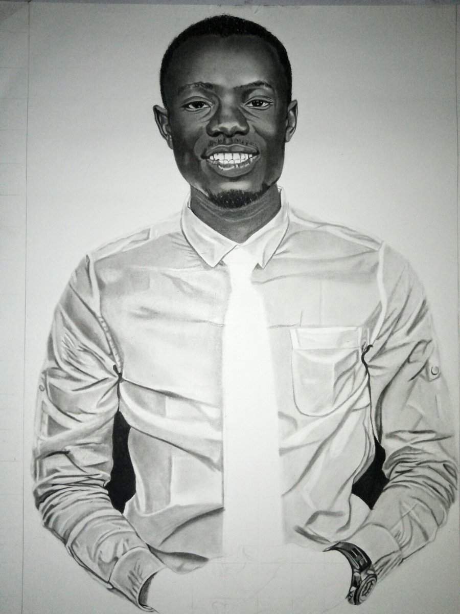 PROGRESS SHOT 2 NEVER TRY TO TAKE AWAY THE SMILE OF ANY MAN. BE RESPONSIBLE FOR A FELLOW BROTHER'S SMILE. HEBREWS 10: 24-25 #artoftheday #pencilrealism #pencilart #pencil_academy #portraitart #pencildrawing #pencilwork #blackart  #artonpaper  #mitchyjevart  MitchyJ Ev Art.pic.twitter.com/jkMMLfipAh