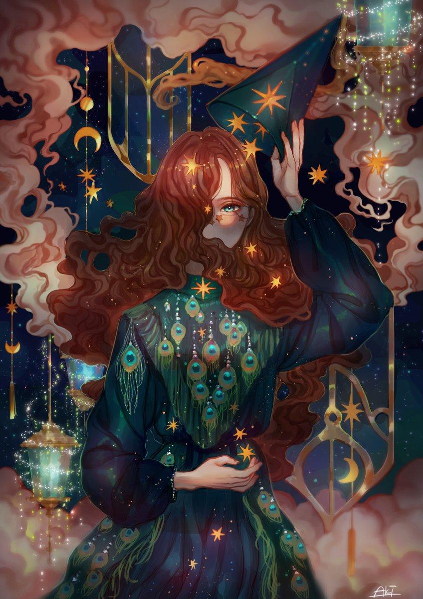私、魔女なの。