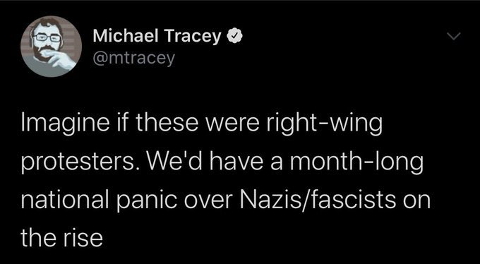 The Nazi defender has logged on.