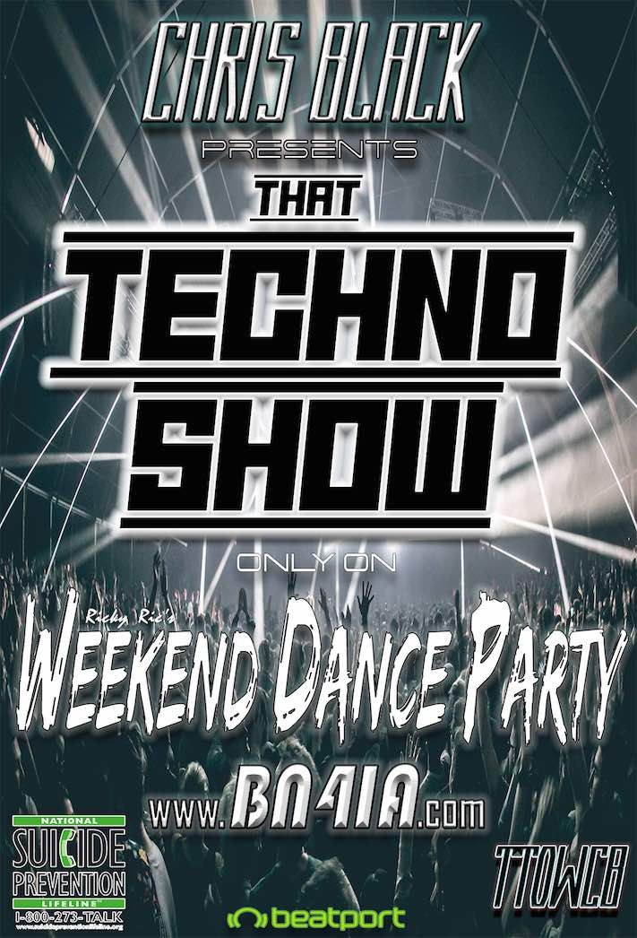#NowPlaying❗in #WDP420... @chrisblacknyc #ThatTechnoShow On @BN4IA 📻 🎲🎲 #LasVegas❗ 🔊 HERE❗☞ https://t.co/bYZahvMEEF & https://t.co/Ac4s6bZCUM ☜ https://t.co/rIa4sdPgu0
