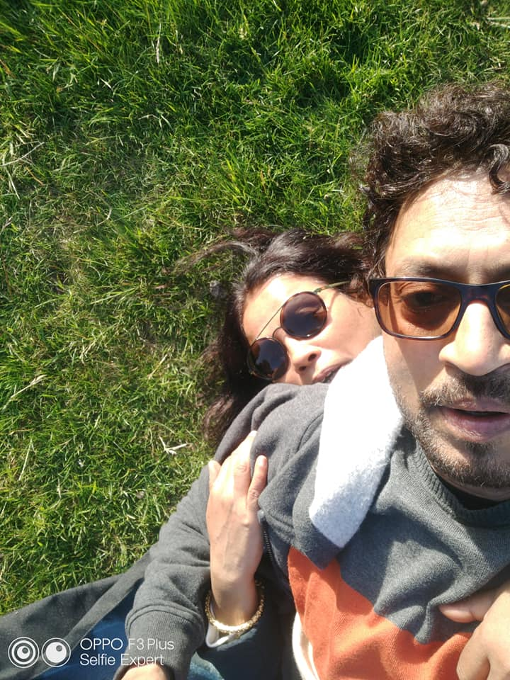 #IrrfanKhan's wife #SutapaSikdar posts these pictures remembering her late husband one month since his death