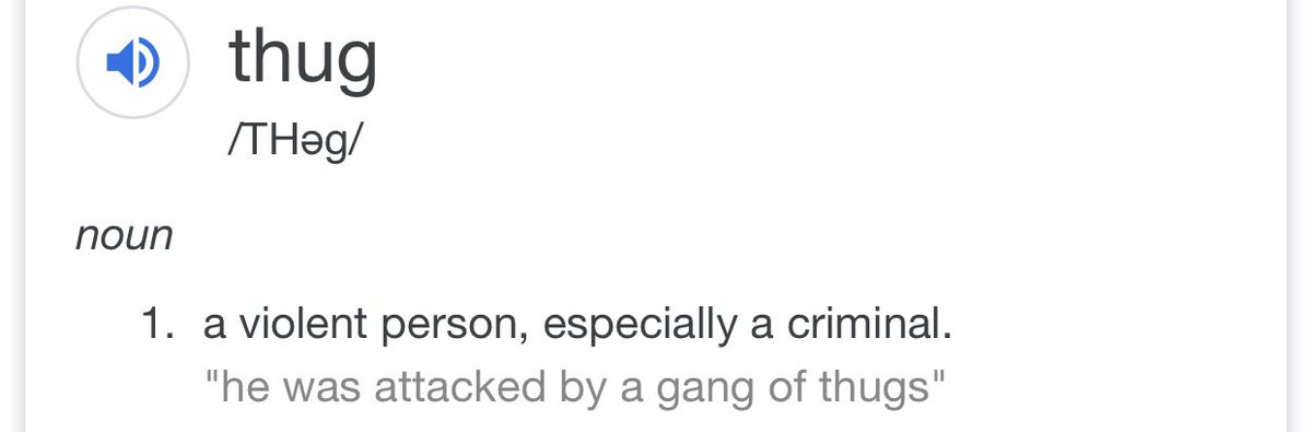 @skaijackson He didn't call black people thugs. He called the rioters thugs. And he is exactly right.