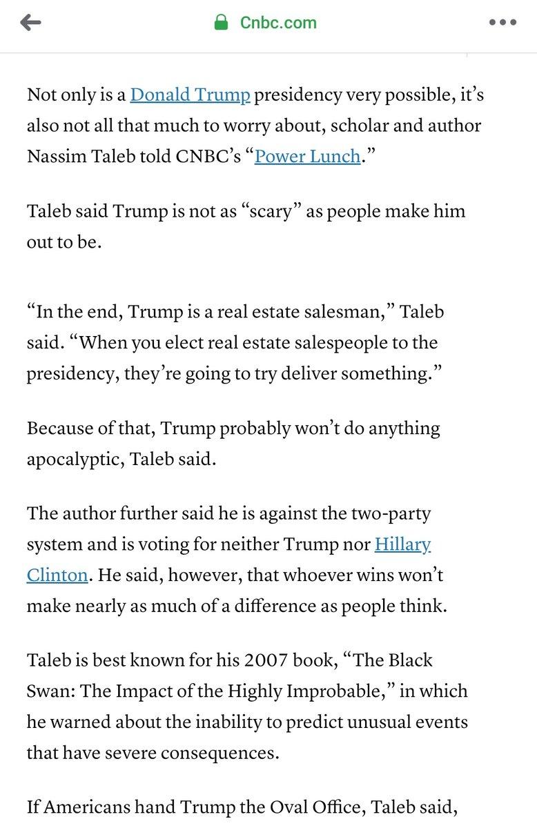 Nassim Taleb, 2016 cnbc.com/2016/11/03/bla…