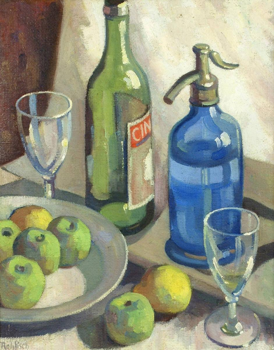 "#ArtoftheDay: ""Green and Blue Still Life"" by Alison Rehfisch, c. 1932, Orange Regional Museum, New South Wales, Australia. pic.twitter.com/JovU8KatlS"