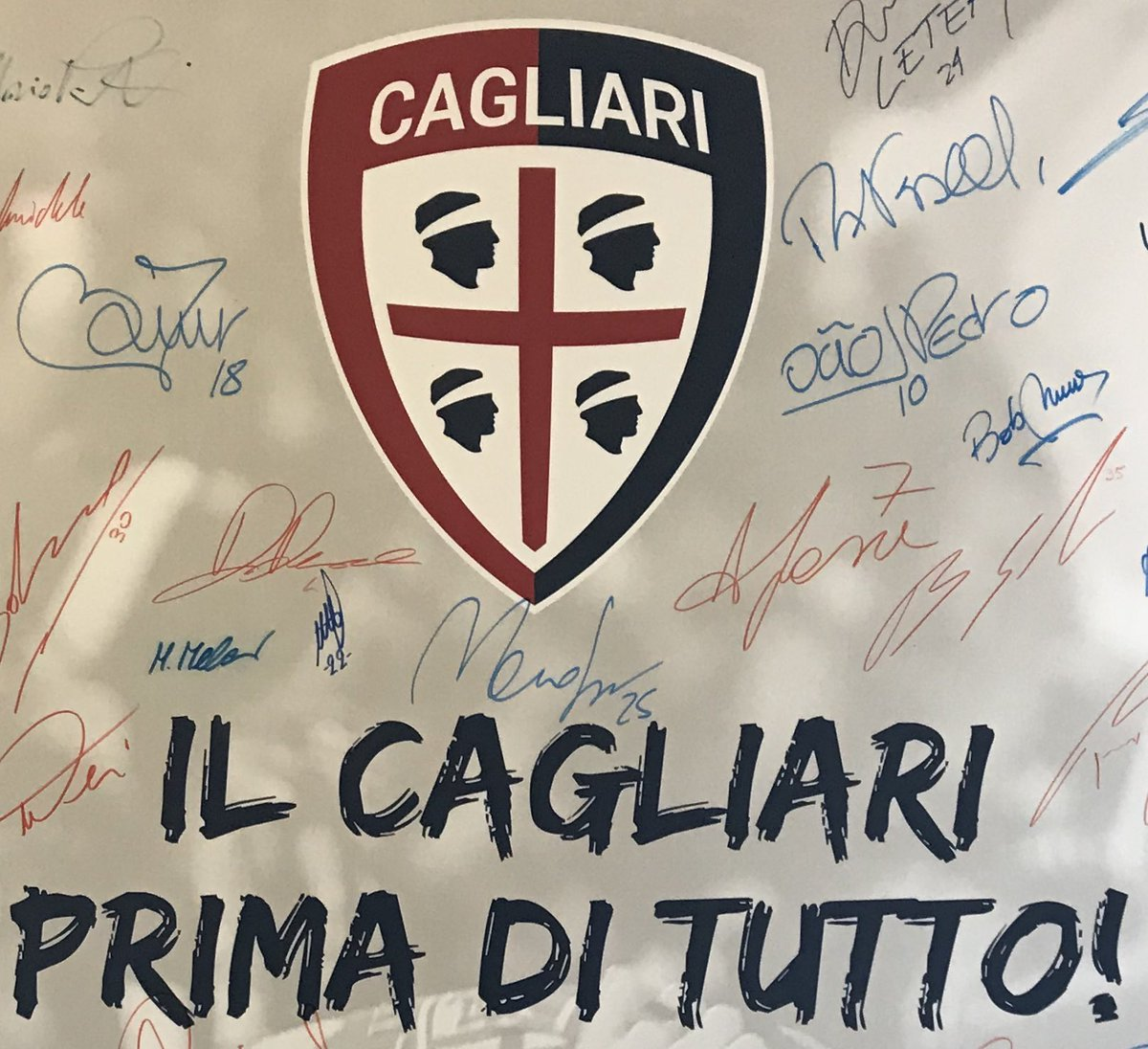#Cagliari100