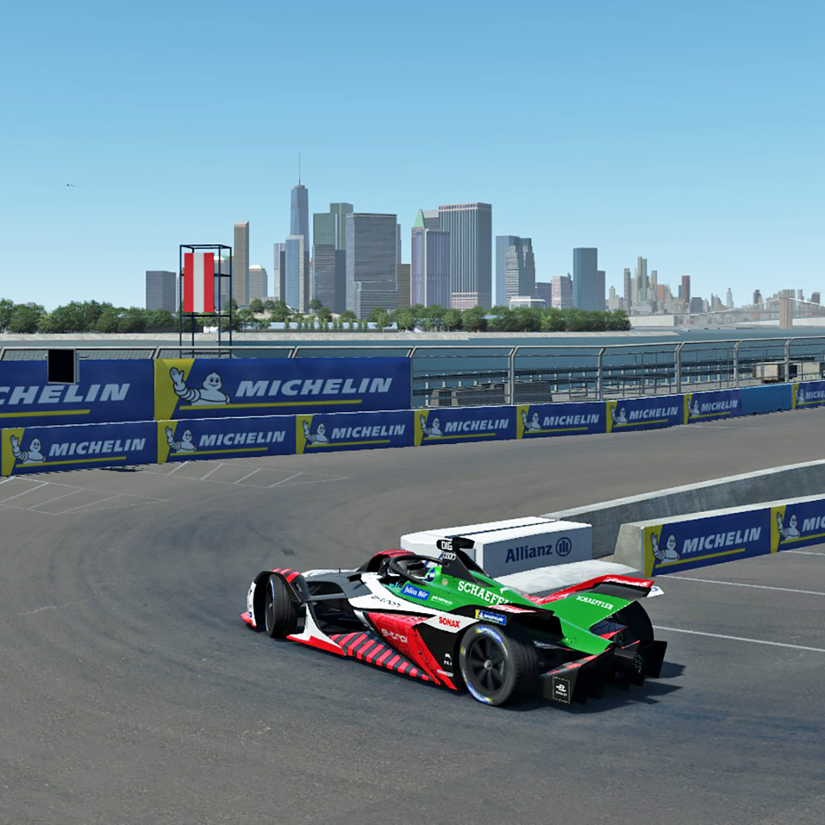 Race day for the #ABBFormulaE Race at Home Challenge in New York, live from 16:30 CEST today.  How to watch >> https://t.co/q8pG4Hflys  #PerformanceIsAnAttitude #FormulaE #RaceAtHome #etron #ProgressFeelsElectric #AudiTogether https://t.co/lcNA2m1Rco