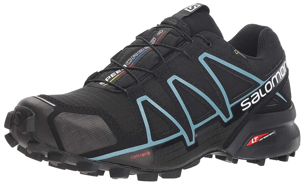 Salomon Speedcross 4 Gtx, Scarpe da Trail Running Donna, Nero (Black/Black/Metallic Bubble Blue 0...   Ora: 89.95€ | Prima: 160.00€ Link: https://amzn.to/2AaR8kA    #Salomon #Scarpe pic.twitter.com/11K6vVmMSX