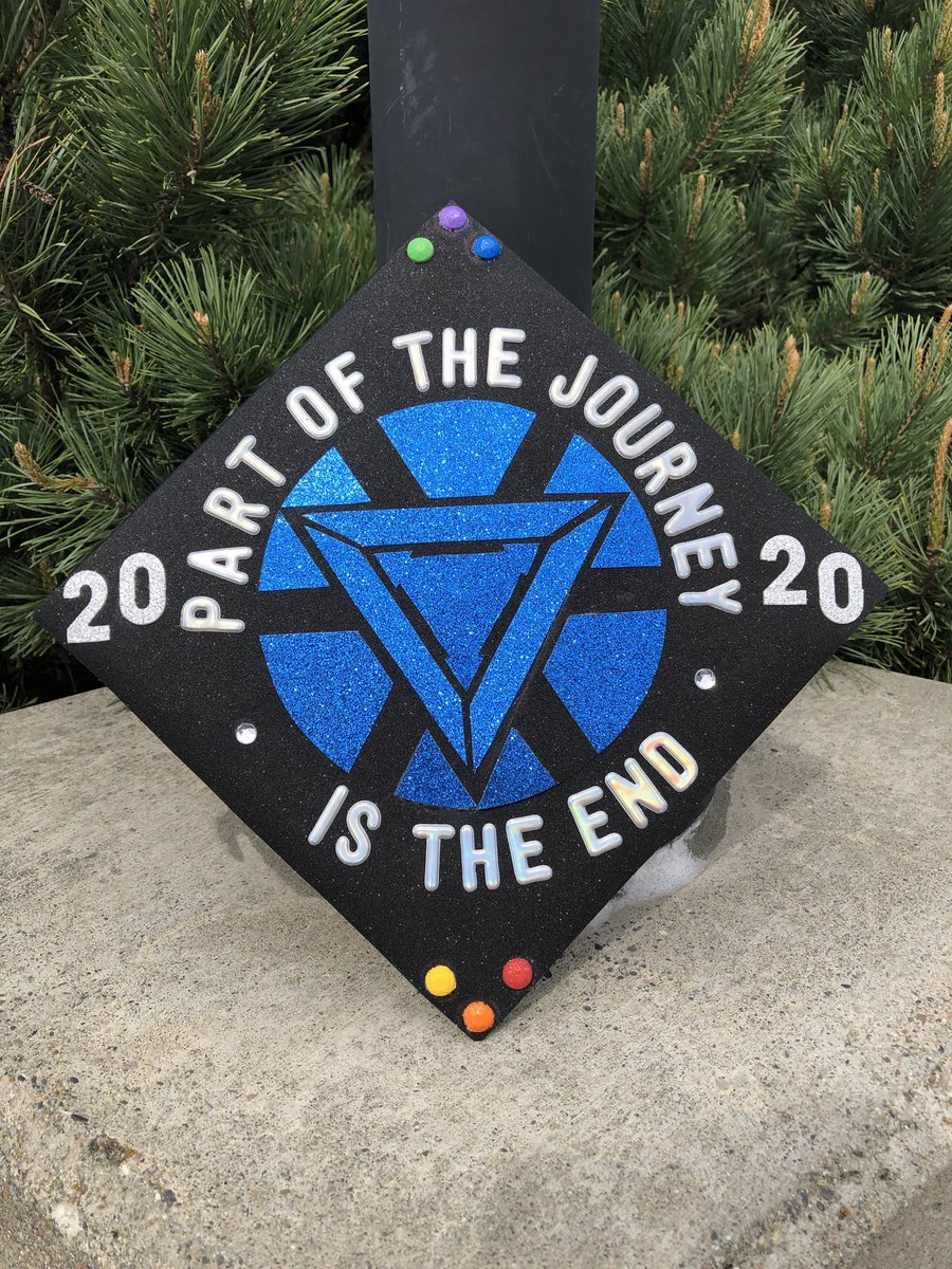 Celebrating graduation like an Avenger!!  No ceremony, but that's okay, cause I AM IRONMAN! #marvel #avengers #ironman #infinitystones #ewu #grad2020 #graduation #iamironman #iloveyou3000 #marvelfan @EWUEagles @RobertDowneyJr @Russo_Brothers @Marvelpic.twitter.com/0Buhj7uMm8