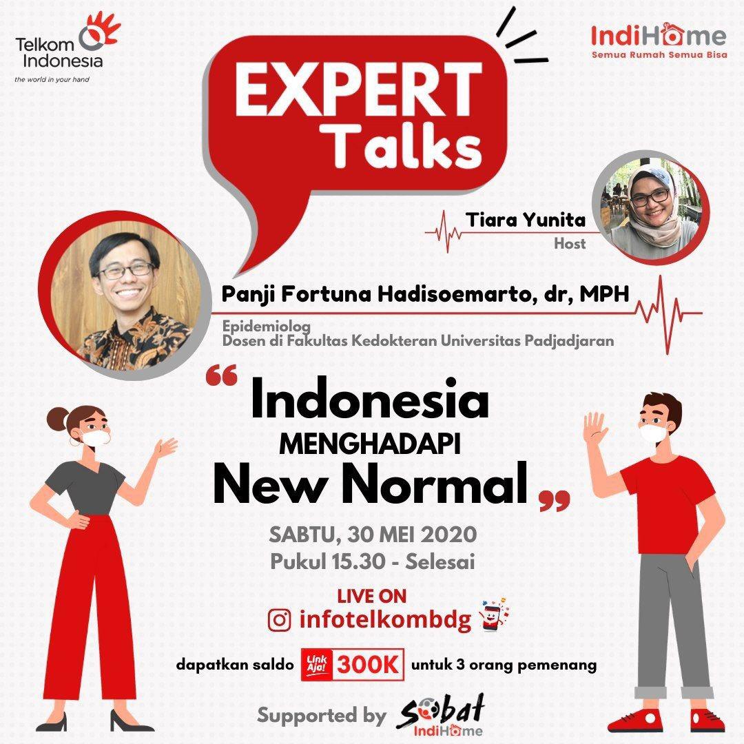 Today! Live on Instagram @infotelkombdg Check it out!  #Newnormal #IndiHomeSeruTerus  #SemuaRumahSemuaBisa #BUMNuntukIndonesia #infobandung #infobdg #covid19 #bersatulawancorona #IndiHome #TelkomIndonesiapic.twitter.com/6p6DpQO6cR