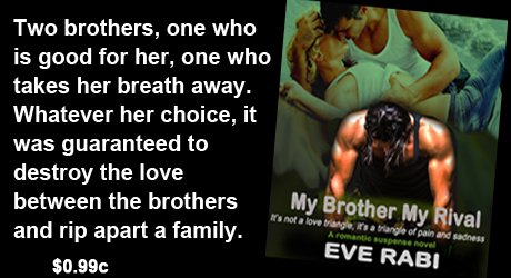 """Go for his brother; he's intelligent, kind, shy, & just as good looking. The kind of man who won't break your heart. Husband material."" Did she listen? Of course not! They never do. #0.99c #Tearjerker #romance. #Romantic #Suspense #Books"