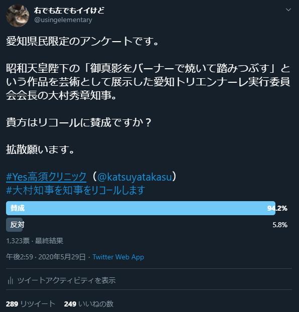愛知県 リコール 署名数