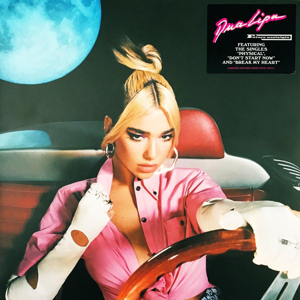 NowPlaying - Dua Lipa 'Future Nostalgia' (2020) - Released 27MAR20 / UK Chart peak 01 - Dua Lipa pink vinyl played on top the Prince love symbol slipmat  #NowPlaying #Dualipa #FutureNostalgia #Vinyl #Prince @DUALIPApic.twitter.com/Kq76fpFsy0