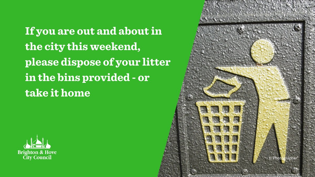 If you are out and about this weekend, please dont leave litter on our: 🏖️ Beaches 🌳 Open spaces 🏘️ Streets ow.ly/Im6C50zNIEq