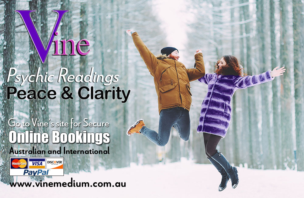If you need a specific question answered or require more in-depth clarity. https://vinemedium.com.au/VineHome.html  Speak with Trusted Australian Spiritual Seer. | Genuinely Gifted, Caring and Highly Respected. | BOOK online today for JUNE! #psychicreading #clairvoyantpic.twitter.com/hEQrreRSl5