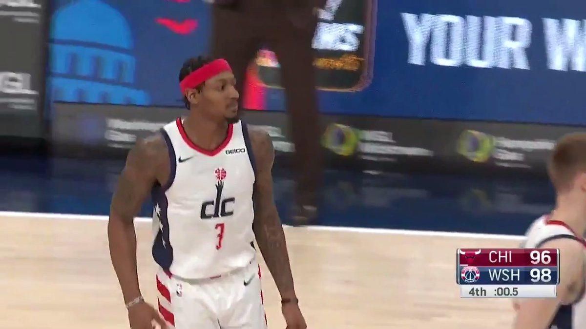 You can count on @RealDealBeal23 to step up in clutch situations! Here is five years' worth of cool-as-ice plays from the All-Star guard in crunch time. ❄️ #RepTheDistrict NBATogether https://t.co/aHYhozKJGc