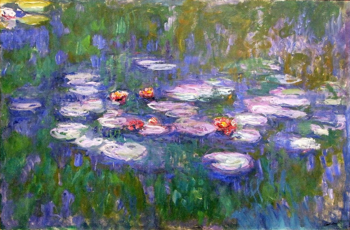"""Everyday I discover more and more beautiful things.  (Claude Monet)  -Art """"Claude Monet""""- <br>http://pic.twitter.com/mnfewsoU5U"""