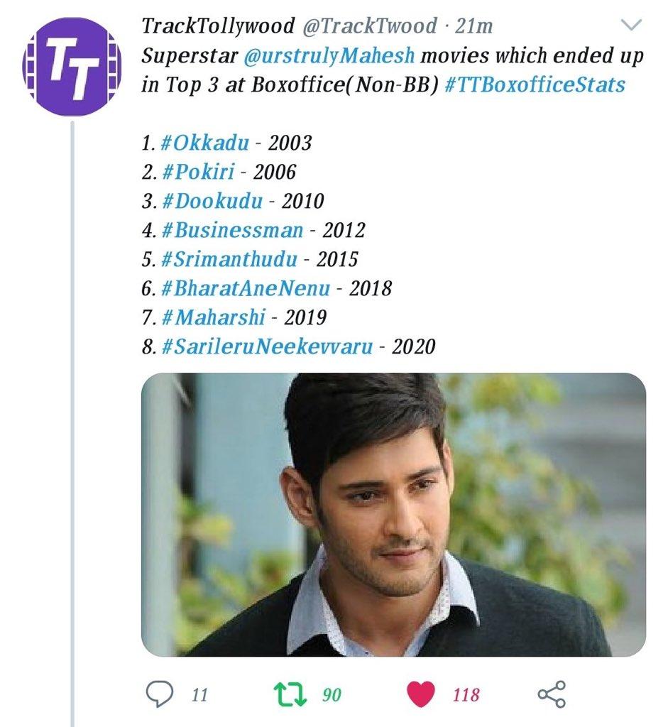 @TrackTwood @urstrulyMahesh @PawanKalyan @tarak9999 @AlwaysRamCharan @alluarjun Reason for a super star with his super stardom https://t.co/h1WXkEvVXw