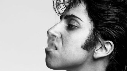 Take a look through every Lady Gaga single & album artwork, including this one featuring alter-ego Jo Calderone: bit.ly/2zJglVD #Chromatica