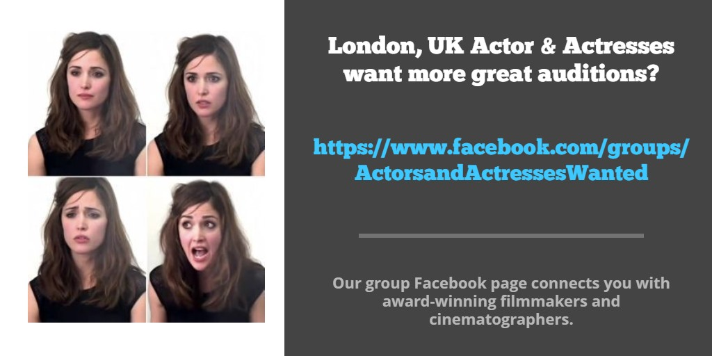 #Actor & #Actress want more great auditions? Work with the best #IndieFilmmakers .Our group FB page connects you with award-winning #Filmmakers #ukactor #northernactor #ukfilming #ukcasting #ukcastingdirectors #scottishactor #londonactor #ActressLife #Showreels #Showreelsharedaypic.twitter.com/MTgneIiIuW