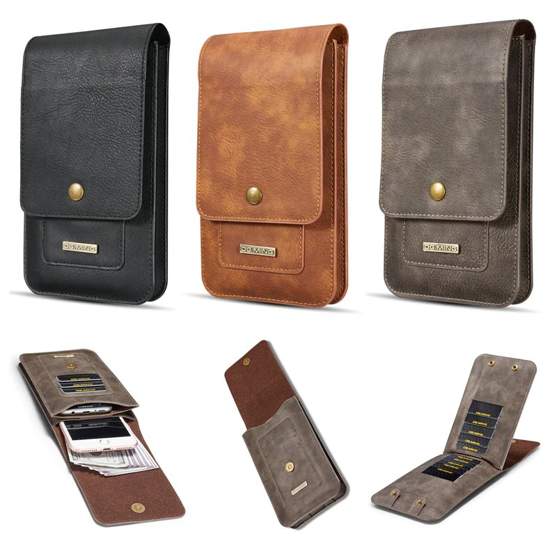 Multifunction 5.2~6.5'' Leather Phone Pouch Bags   #leather #handmade #fashion #leathercraft #leatherwork #style #leathergoods #leatherbag #bag #design #handcrafted #shoes #wallet #leatherjacket #luxury #bags #accessories #love #boots #instagood