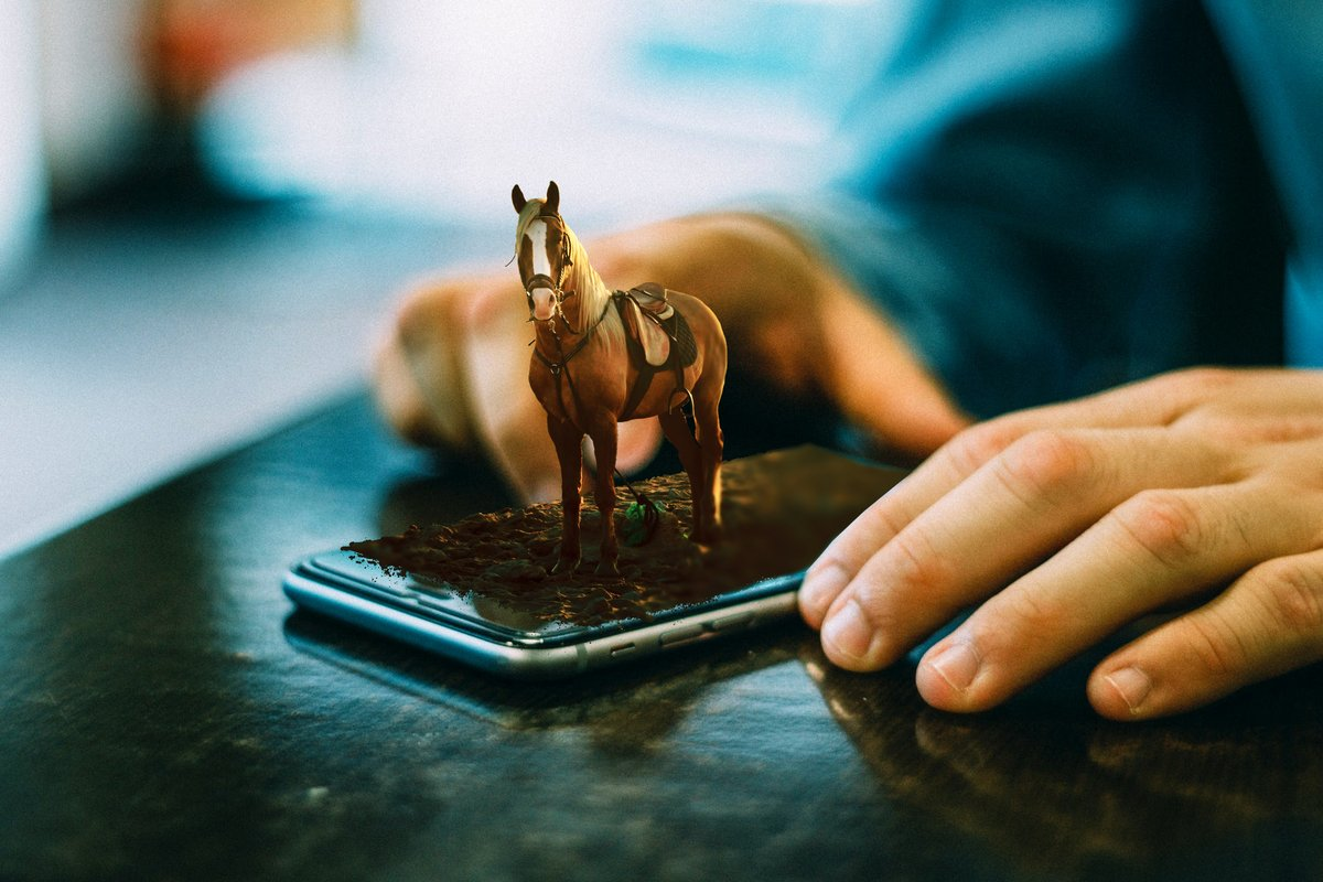 3D Image Effect TUTORIAL:   #3D #Photoshop #Design #iPhone #Photography #horse #Art